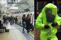 دہشت گرد برطانیہ میں کیمیائی حملوں کا منصوبہ بنا رہے ہیں، برطانوی حکام