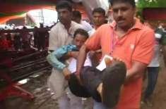 22 dead during Modi Public gathering