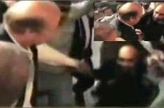 صدیق الفاروق نواز شریف کے قدموں میں گر پڑے