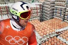 نارویجن اولمپک ٹیم نے حادثاتی طور پر 15,000 انڈوں کا آرڈر دے دیا