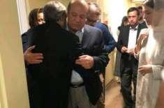 نواز شریف لندن سے پاکستان کے لیے روانہ