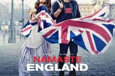 فلم ''نمستے انگلینڈ'' کا پوسٹر جاری