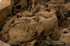 150سالوں تک جس تابوت کو خالی سمجھا جاتا رہا، اس میں سے 2500سال پرانی ممی ..
