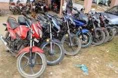 رحیم یار خان، پولیس کا کم عمر ڈرائیورزکیخلاف کریک ڈاؤن ،331 موٹر سائیکل ..