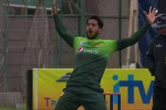 After 32 ODIs, Hasan Ali has 66 wickets which is most by any fast bowler at this stage of career. Mitchell McClenaghan and ..