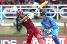 بھارت اور ویسٹ انڈیز کے درمیان ون ڈے انٹرنیشنل کرکٹ سیریز کا آغاز ..