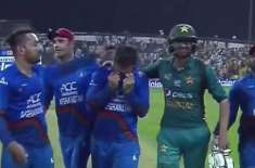 afghan players in tears