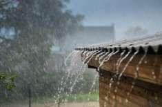 ٹنڈو محمد خان اور اس کے نواحی علاقوں میں بارش کے باعث موسم خوشگوار ہو ..