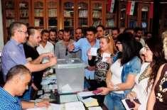 شام، خانہ جنگی کے بعد حکومت کے زیر اثر علاقوں میں پہلے بلدیاتی انتخابات