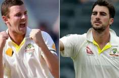 Australian fast bowlers Cummins, Hazlewood out of Pakistan Test tour