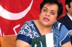 ڈاکٹر شیریں مزاری سے آل پاکستان ہندو پنچائیت کے صدر کی سربراہی میں ..