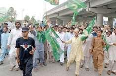 مسلم لیگ (ن) لاہور نے گرفتاری لیگی کارکنوں کی رہائی کیلئے 24گھنٹوں کی ..