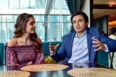 فلم ''طیفا ان ٹربل'' کی ہیروئن مایا علی اداکار علی ظفر کی حمایت میں ..