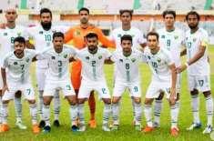 فلسطین نے پاکستان کو دوستانہ فٹ بال میچ میں 1-2 سے شکست دے دی