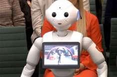 انسانی تاریخ میں پہلی مرتبہ پارلیمنٹ میں کسی روبوٹ کو بطور گواہ پیش ..