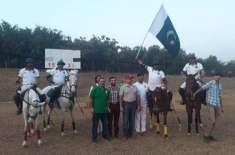 لاہور پولو کلب کے زیراہتمام کیپٹل سمارٹ سٹی پولو کپ 2019ء کے پہلے روز ..