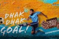 Peek Freans Chocolicious 'Dhak Dhak Goal' becomes most popular football anthem on social media