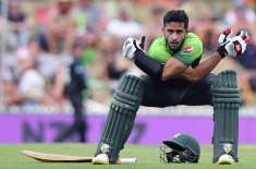 hasan ali won RS 50000 for his team with the bat
