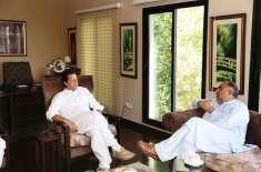 وزیر اعظم عمران خان سے سپیکر قومی اسمبلی اسد قیصر کی ملاقات