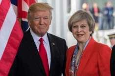 امریکی صدر ڈونلڈ ٹرمپ برطانوی حکومت پر برس پڑے