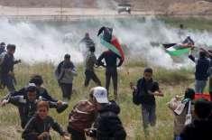 غزہ کی سرحد پر اسرائیلی فوج کی فائرنگ سے 3 فلسطینی شہید