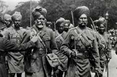 جنگ عظیم اول میں فرانسیسی فوج کے ساتھ لڑنے والے ہندوستانی فوجیوں کی ..