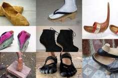 10 عجیب و غریب جوتے