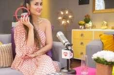 کرینہ کپور خان نے ریڈیو شو کی ریکاڈنگ کروانا شروع کر دی