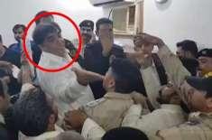 حنیف عباسی کے بیٹے سمیت 60 سے زائد لیگی رہنما ئو ں پر مقدمہ