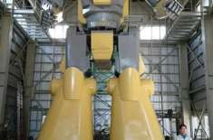 جاپانی انجینئر نے کارٹون سے متاثرہو کر28 فٹ اونچا فنکشنل روبوٹ بنا لیا