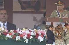جنرل قمر جاوید باجوہ کا آرمی ایئرڈیفنس سینٹر کراچی کا دورہ