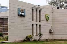 پاکستان فٹ بال فیڈریشن کے وفد کا فیفا ہائوس گول پراجیکٹ کے تحت ایبٹ ..