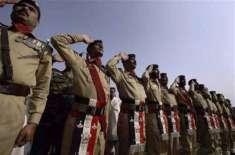 چکوال، نائب صوبیدار الفت حسین شہید کو فوجی اعزاز کے ساتھ سپرد خاک کر ..