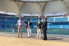 پہلا ٹیسٹ ، پاکستان نے آسٹریلیاکیخلاف ٹاس جیت لیا