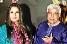 بالی وڈ اسکرپٹ رائٹر جاوید اختر اور اداکارہ شبانہ اعظمی نے دورہ کراچی ..