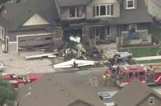 Pilot Crashes Plane Into His Own House After Fight With His Wife