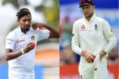 سری لنکا اور انگلینڈ کے درمیان تیسرا اور اور آخری کرکٹ ٹیسٹ میچ 23 نومبر ..