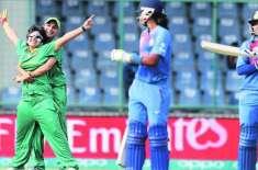 ویمنز ٹی 20 ورلڈ کپ، پاکستان اور بھارت کے درمیان وارم اپ میچ (کل) کھیلا ..