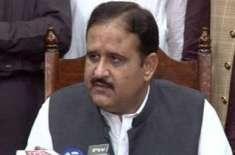 راولپنڈی ،وزیر اعلیٰ پنجاب عثمان بزدارکی دفتری اوقات کے دوران ڈپٹی ..