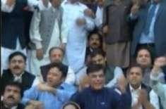پنجاب اسمبلی: ن لیگی ارکان کی ہنگامہ آرائی، 6 کوشوکازنوٹسز جاری