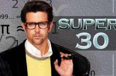 فلم ''سپر 30 '' کے لئے ممبئی میں 10کروڑ روپے کی لاگت سے سیٹ تیار کیا ..