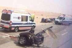 اومان:خوفناک ٹریفک حادثے میں سات سعودی ہلاک