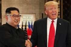 امریکی صدر ڈونلڈ ٹرمپ شمالی کوریا کے رہنما کم جونگ اٴْن سے جلد دوبارہ ..