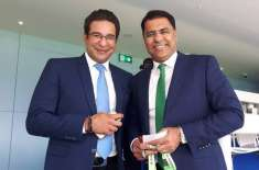 Waqar Younis and Wasim Akram wishes Imran Khan good luck for elections