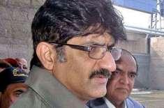 وزیراعلی سندھ کا جے پی ایم سی اسپتال کا دورہ، قائد آباد بم دھماکے کے ..