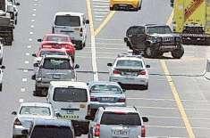 ابو ظہبی:جائے حادثہ پر موجود افراد خود بھی حادثے کا شکار ہو گئے