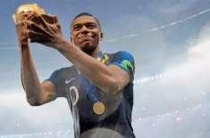 فرانسیسی اسٹار فٹبالر مباپے  کاعالمی کپ کی آمدنی عطیہ کر نے کا اعلان