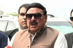 وفاقی وزیر ریلوے شیخ رشید نے ریلوے کا خسارہ کم ہونے کی خوشخبری سنا دی