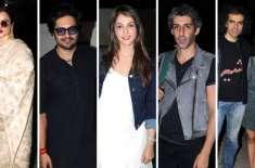ریکھا، امتیاز علی، نوازالدین صدیقی، شبانہ اعظمی کی فلم ''منٹو'' ..