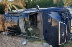 شارجہ میں ہولناک ٹریفک حادثہ، ڈرائیور ہلاک، 7 افراد زخمی
